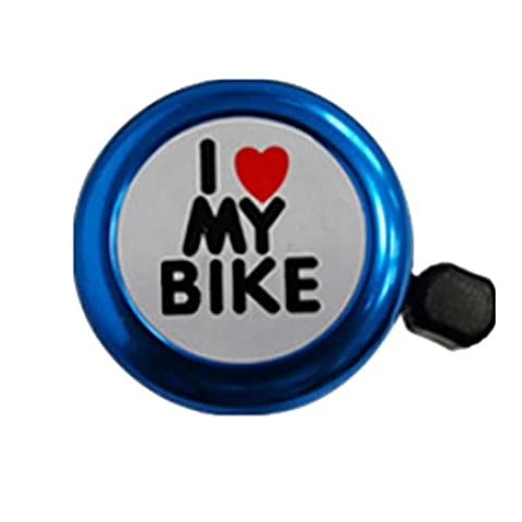 Bike Bell, Keepwin Cute I Love My Bike Kids Bicycle Bell Ring Horn for Outdoor Riding Mountain Cycling - Lightweight and Safety