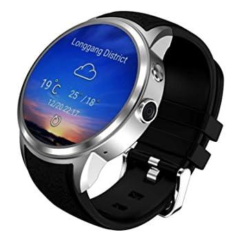 DUWIN Reloj Inteligente X200 Pantalla Redonda Android5.1 IP67 Impermeable Bluetooth WiFi MTK6580 Cuádruple Núcleo