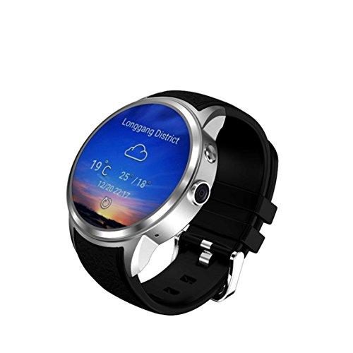 81fc5e3415c7 DUWIN Reloj Inteligente X200 Pantalla Redonda Android5.1 IP67 Impermeable  Bluetooth WiFi MTK6580 Cuádruple Núcleo
