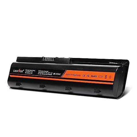 LENOGE batterie de remplacement pour HP Presario CQ32 CQ42 CQ43 CQ430 CQ56 CQ62 CQ72 Series MU06 MU09 593553-001 586006-361 586006-321 Envy 17 HP G32 G42 G42T G56 G62 G72 G4 G6 G6T G7 Fits WD548AA