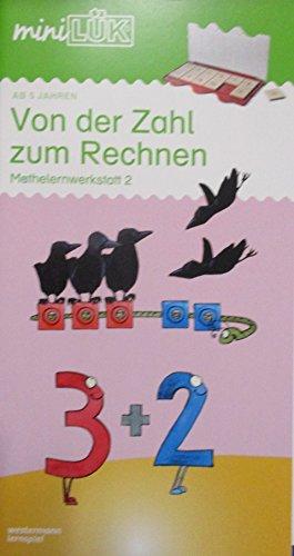 miniLÜK-Übungshefte / Vorschule: miniLÜK: Vorschule/1. Klasse - Mathematik: Von der Zahl zum Rechnen