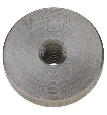 Reidl Rändelmuttern hohe Form M 10 DIN 466 A1 blank 1 Stück