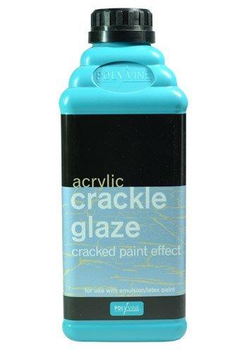 Polyvine : Crackle Glaze : 1 litre - Crackle Glaze