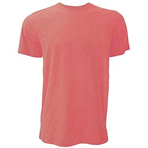 Bella Canvas Herren T-Shirt Heather Red
