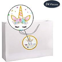 AMZTM Decorados Fiesta De Cumpleaños Conjunto para Mujeres Artículos para Fiestas Temáticas De Unicornios Happy Birthday