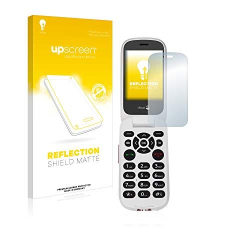 upscreen Reflection Shield Matte Bildschirmschutz Schutzfolie für Doro 7060 (Inneres Bildschirm) (matt - entspiegelt, hoher Kratzschutz)