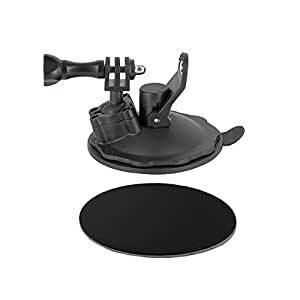 Rec-mounts™ Compact Suction Cup Mount (Gel Material)[rec-b01g] for Gopro® Camera