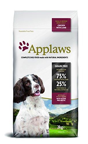 Applaws Hund Trockenfutter mit Lamm, 1er Pack (1 x 2 kg Packung)
