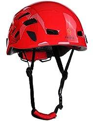 Yves25Tate Universal Kletterhelm, Einstellbar, Belüftung, Für Bergsteigen, Klettern, Höhlenforschung, 54-62cm