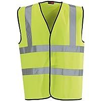 Blackrock Men's High Visibility Waistcoat, EN20471, Class 2