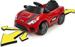 FEBER My Real Car - Coche eléctrico a bateria Interactivo, para niños y niñas de 18 meses a 4 años (Famosa 800012444)