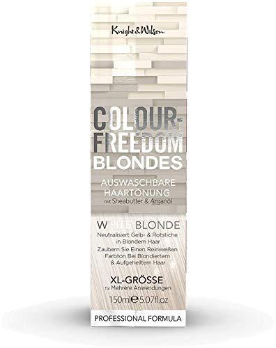 Blonde Tönung (Colour-Freedom Blondes White Blonde XL 150 ml auswaschbare Haartönung)