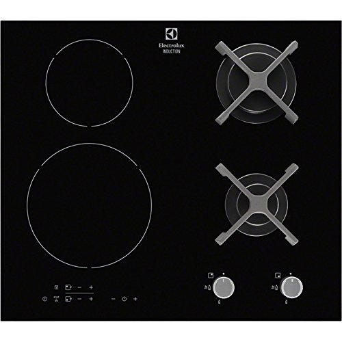Electrolux - EGD6576NOK - Tables de Cuisson Mixte Gaz et Induction
