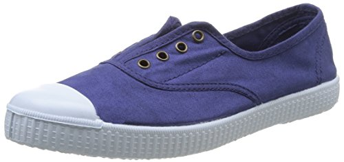 victoria - Inglesa Elastico Tenido Punt, Sneakers da donna Blu(Bleu (Tinta))
