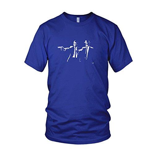 Blue Meth Fiction - Herren T-Shirt Blau
