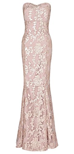 Amara Sequin Maxi Dress with Corset Style