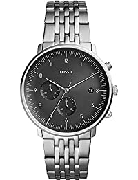 Fossil Chase Timer Analog Black Dial Men's Watch-FS5489