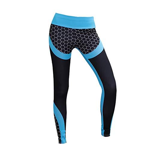 Winkey  Yogahosen,Frauen Yoga Set Yoga Sport Stretch Hosen Strumpfhosen Laufen Fitness -