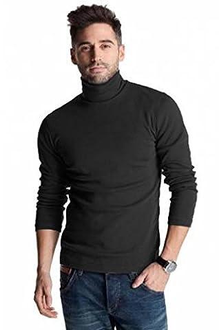 Hann Brooks - T-Shirt à manches longues - Homme Noir Noir - Noir - Medium
