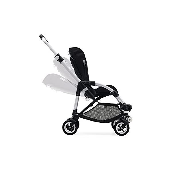 Bugaboo Bee 5, Foldable and Lightweight Pushchair, Converts Into Pram, Black Bugaboo The perfect choice for city living Compact yet comfortable for parent and baby Light and easy one-piece fold for small spaces 6