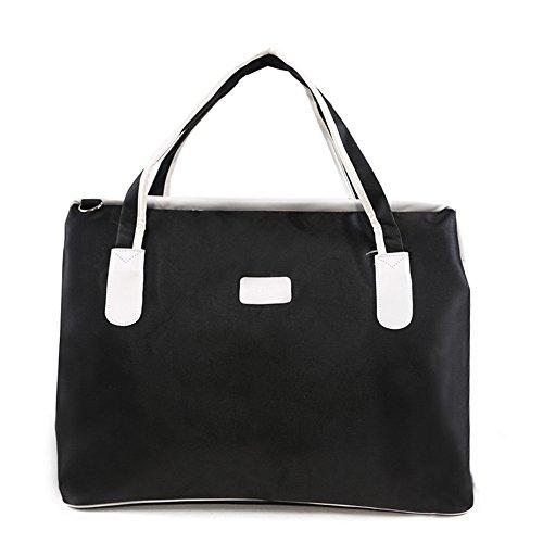 Große Kapazität Wasserdichte Koffer Tasche Reisetasche für Handtasche Männer, schwarz, groß (Lv Handtaschen Für Den Mann)