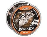 Jaxon Angelschnur Monolith Match Monofile Schnur 150m Spule (0,20mm / 9kg)
