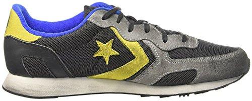 Converse Sneaker Auckland Racer Ox Grau (STORM WIND/grau D/A. gelb)