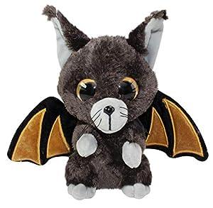 LUMO STARS Halloween Bat Battis Animales de Juguete Felpa Marrón, Gris - Juguetes de Peluche (Animales de Juguete, Marrón, Gris, Felpa, 3 año(s), Niño/niña, 150 mm)