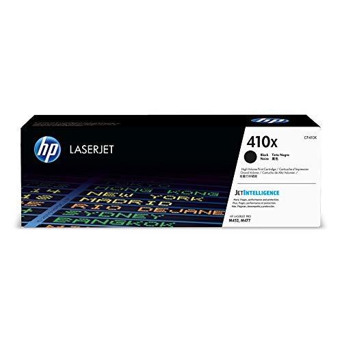 HP 410X CF410X pack de 1, haut rendement, toner d'origine, noir