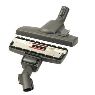 Bodendüse für Miele Serie S8 - S 8000 (S8330 / S8340 / S8390 / .. ) umschaltbar mit Einrast- und Parkvorrichtung von Microsafe®