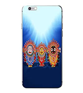 PrintVisa God Shree Jagannath Swami High Glossy Metal Designer Back Case Cover for Apple iPhone 7 Plus