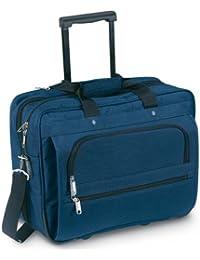 Negro bolso del ordenador portátil de negocios Ejecutivo - cabina vuelo Trolley ruedas caso