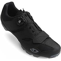 Giro Cylinder MTB, Zapatos de Bicicleta de montaña para Hombre, (Black 000), 43 EU