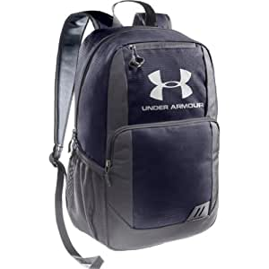 UNDER ARMOUR Ozzie Backpack, Navy/Grey