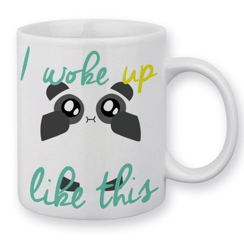 Mug Fluffy Chamalow Panda Chibi Kawaii
