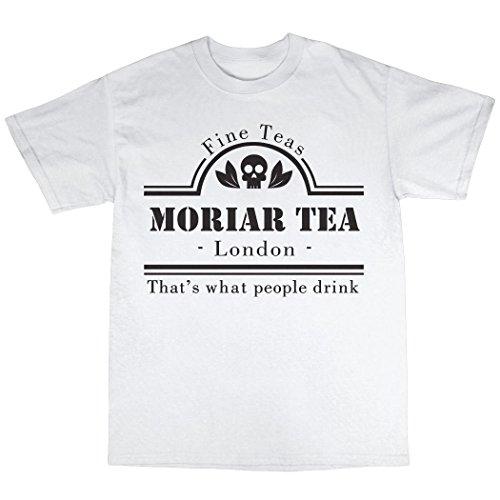 Moriarty Sherlock Holmes T-Shirt Uomo Bianca