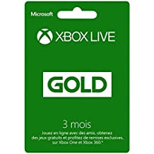Microsoft Xbox 360 LIVE 12-Month Gold Subscription Card, FR - accesorios de juegos de pc (FR)