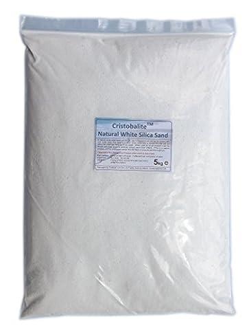 10kg White Decorative Sand - Suitable for Aquariums