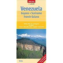 VENEZUELA GUYANA SURINAME FRENCH GUIANA ED 2011