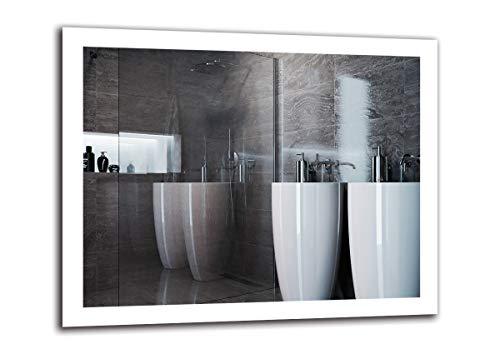 Espejo LED Premium   Dimensiones Espejo 100x80 cm