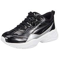 PUMA Cilia Patent Jr Puma Black-Puma Silver-P Moda Ayakkabılar Kadın