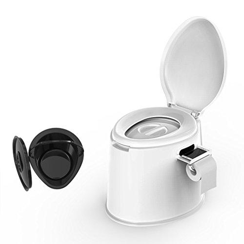 LI JING SHOP - La chaise portative de toilette peut se déplacer pour des enfants et des femmes enceintes à l'intérieur du canon X1 Environmental PP Résine 41X50X39cm Couleur: Blanc ( Couleur : Blanc , taille : #-001 )