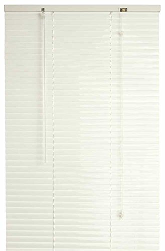 DESIGNER'S TOUCH 1-Inch Vinyl Mini Blinds, Alabaster, 23X36 In. - 833472 by Designer's Touch