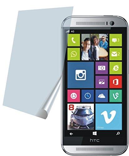 HTC One M8s (2 Stück) PREMIUM Displayschutzfolie Bildschirmschutzfolie kristallklar Schutzhülle Displayschutz Displayfolie Folie