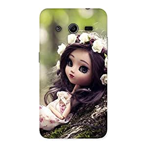 Gorgeous Angel And Tree Multicolor Back Case Cover for Galaxy Core 2