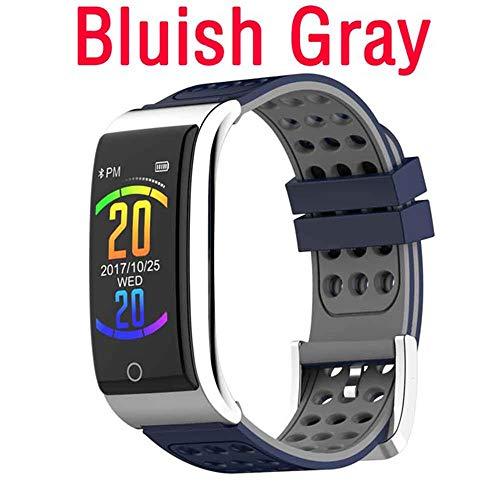 Smart Watch, EKG PPG Blutdruck Wasserdicht Fitness Tracker Band Pulsmesserfür Smart Bracelet,Gray