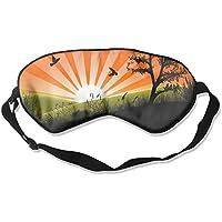 Birds Grass Trees Sleep Eyes Masks - Comfortable Sleeping Mask Eye Cover For Travelling Night Noon Nap Mediation... preisvergleich bei billige-tabletten.eu