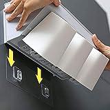 DADAO Plastik-Badezimmer-Ecke Shelves Wall Mount Dusch-Racks Badezimmer-Rallauer Dreieckige Rack Storage Organizer Inhaber