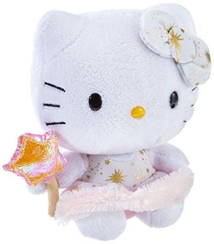 Hello Kitty - Gold Angel Plush - TY Beanie - 15cm 6""