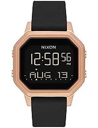 46741accfe86 Nixon Reloj Mujer de Digital con Correa en Silicona A1211 1098-00